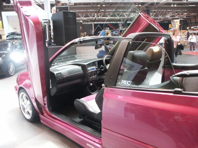 VW Golf Lambo Doors Interior : click to zoom picture.